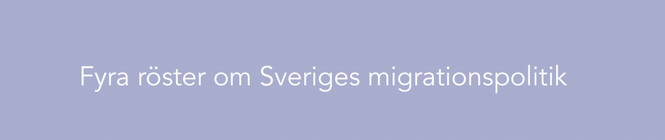 Ett öppnare Sverige